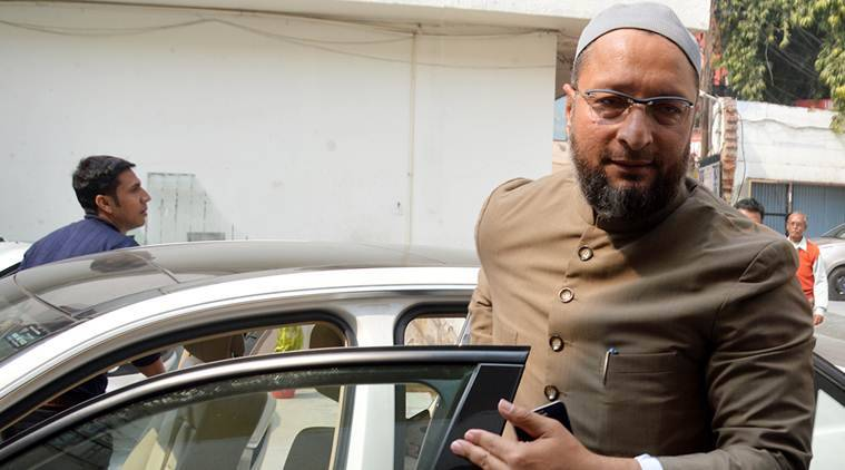India my father's country, nobody can force me flee: Owaisi to Yogi Adityanath
