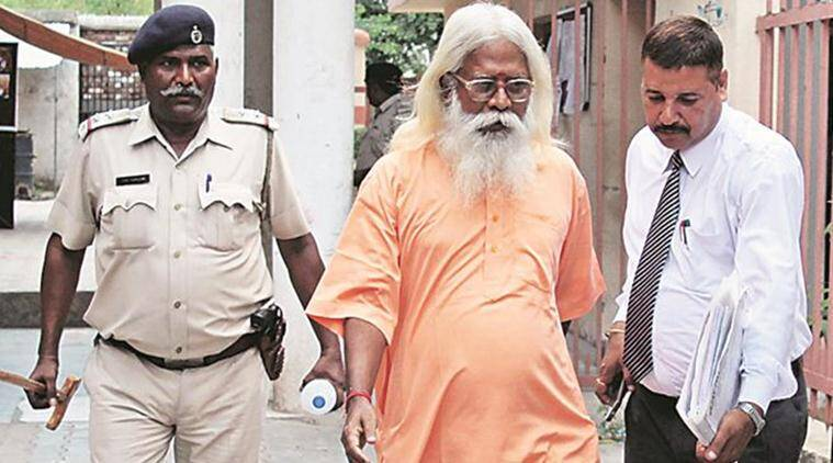 Aseemanand , swami Aseemanand , Aseemanand bail, Aseemanand mother, Hyderabad, hyderabad court, Huderabad court Aseemanand, Aseemanand news, india news, indian express news