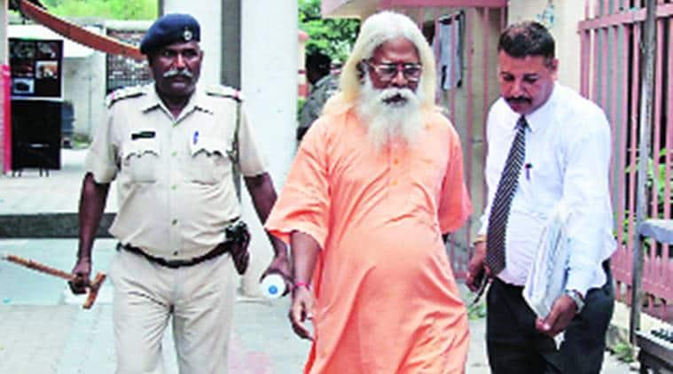 Swami Aseemanand, Swami Aseemanand bail, Telengana government on Swami Aseemanand bail, Owaisi on Swami Aseemanand, Mecca-Masjid blast, indian express news