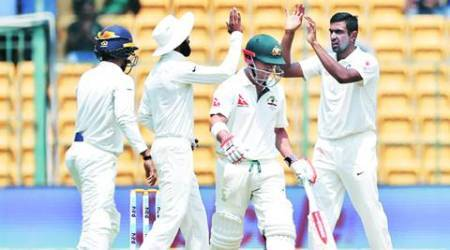 India vs Australia, Ind vs Aus, India vs Australia 2017, Ind vs Aus 2017, David Warner, R Ashwin, Ashwin, Warner, Cricket news, Cricket