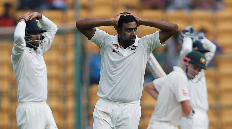 india, australia, india-australia second test, bangalore test, spinners at bangalore test, ashwin, r ashwin, indian cricket, indian express