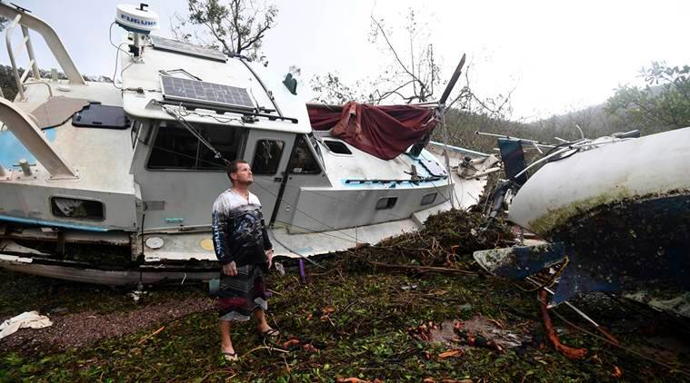 Image result for Flooding overwhelms Australian towns after Cyclone Debbie