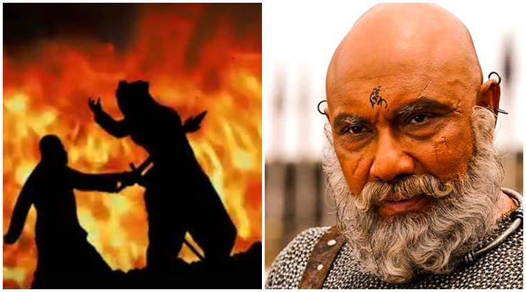 kattappa, sathyaraj, kattappa sathyaraj, baahubali 2, why kattappa killed baahubali, baahubali: the conclusion, baahubali 2 actors, prabhas, rana daggubati, baahubali prabhas, rana daggubati baahubali, indian express news, entertainment news