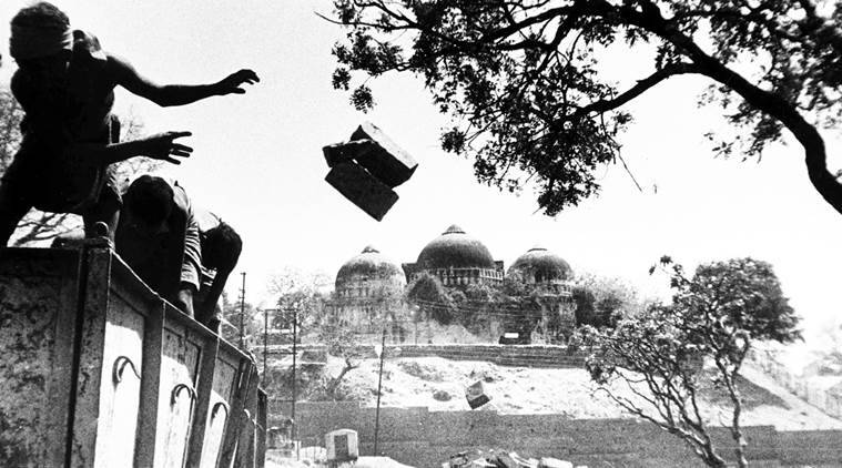 Babri masjid demolition, Babri masjid demolition anniversary, Babri demolition day, Central government, State security, communal tension, India news, indian express news