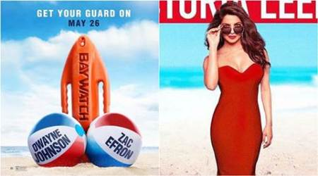 Priyanka Chopra's new Baywatch poster is not safe for work. Check the raunchy new posterhere