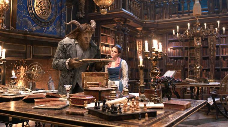 beauty and beast movie review, beauty and beast image