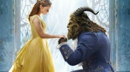 beauty and the beast, beauty and the beast box office, beauty and the beast 400 million dollars, beauty and the beast weekend record, emma watson, emma watson 100 crore, beauty and the beast malaysia release, beauty and the beast gay content, beauty and the beast censor board, indian express, entertainment news