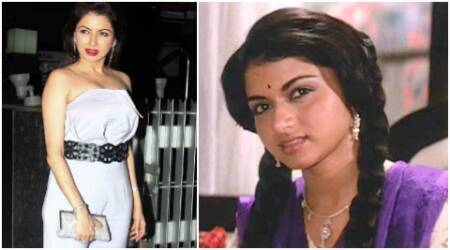 Bhagyashree's rare appearance reminds us of Maine Pyar Kiya's demure Suman. See pics