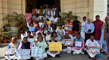 Bihar: Both Houses of Legislature stalled by protests