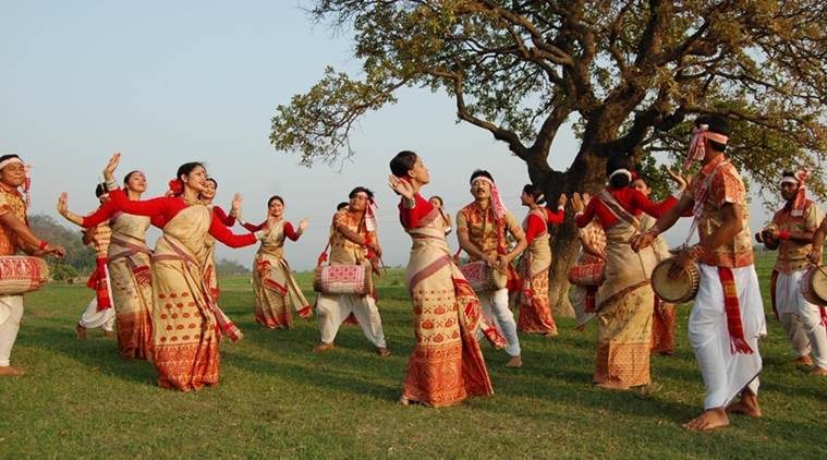 Image result for assam bihu