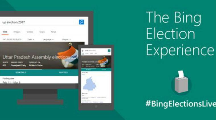 Microsoft Bing, State Elections, UP State Elections, Bing updates, Bing.com, UP State elections live streaming, Elections IQ, Facebook, Twitter, Social media, Technology, Technology news