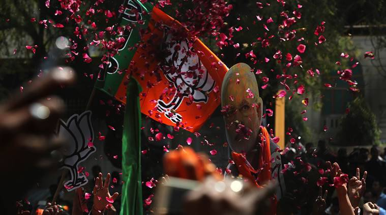 elections results, election results today, Uttar Pradesh election, uttar pradesh winners, uttar pradesh bjp winners, Uttar Pradesh Election news, Uttar Pradesh election results, Uttar pradesh election results, SP In Uttar Pradesh, BJP in Uttar Pradesh, BSP in Uttar Pradesh, uttar pradesh elections 2017, up elections caste, caste factor up elections, uttar pradesh 2017 elections, up polls, up polls 2017, uttar pradesh 2017 polls, up news, india news, indian express news, latest news
