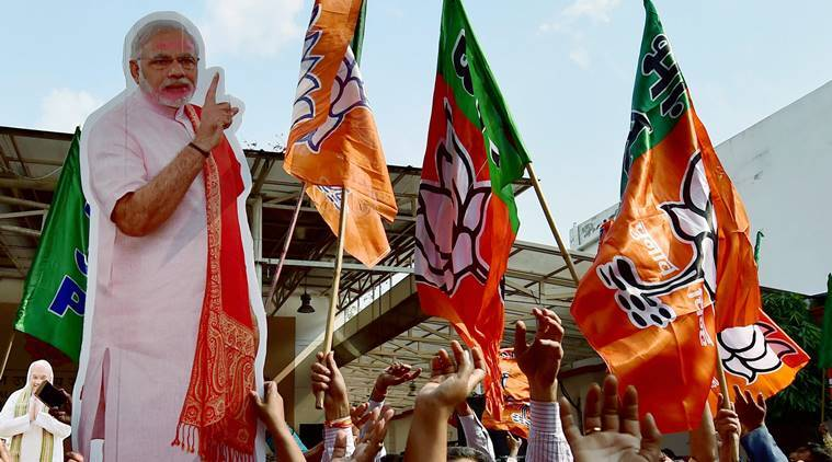 UP election results, Uttarakhand election results, election results, election BJP, BJP victorious, Congress defeat, UP SP-Congress defeat, indian express news