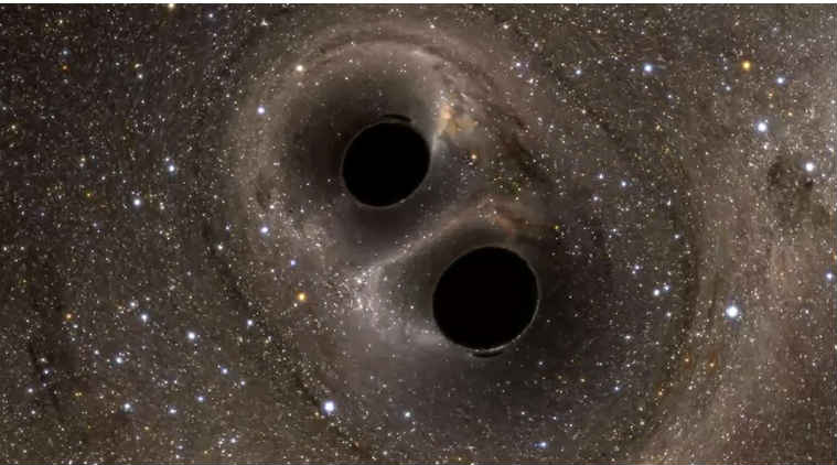 distance from earth black hole - photo #21