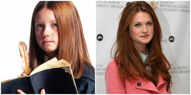 Bonnie Wright, Ginney Weasley, Harry potter Ginny Weasley, Ginny Weasley and harry potter, ginny now and then