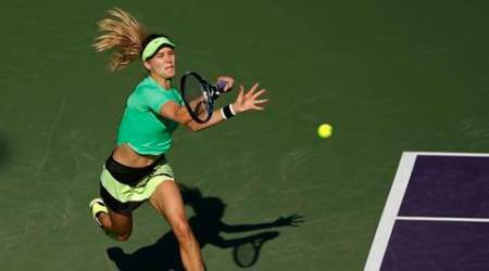 Bouchard suffers first round exit at Miami Open