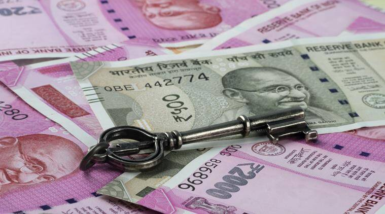 Rupee dives, against US dollar, domestic equity markets, market news, Indian express news