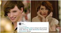 Twitterati slam CBFC for cancelling the telecast of the Oscar-winning film 'The Danish Girl'