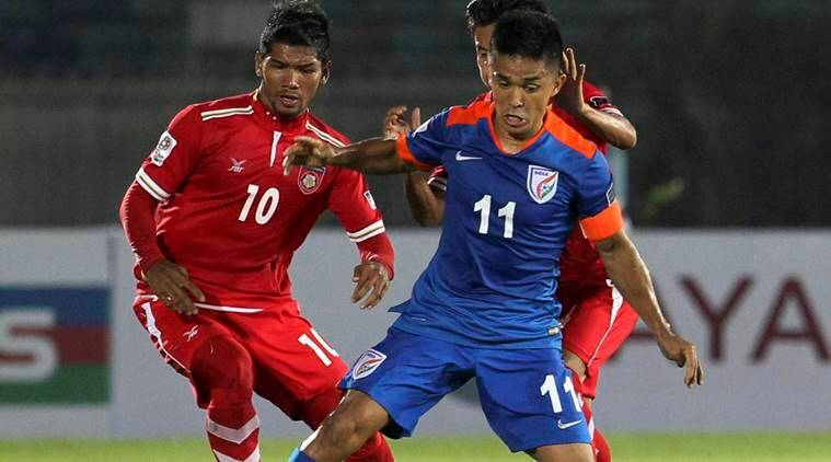 sunil chhetri, chhetri, sunil chhetri india, india football team, india football, football india, football news, football