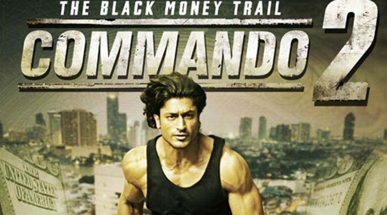 Commando 2, Commando 2 box office collection, Commando 2 box office, Commando 2 box office collection, Commando 2 box office collection day 3, Commando 2 box office collection day three, Vidyut Jammwal, Vidyut Jammwal commando 2, commando 2 Vidyut Jammwal, entertainment news, indian express, indian express news