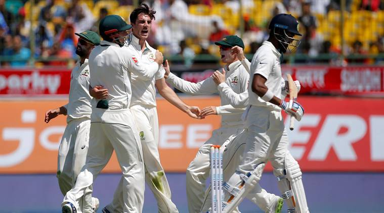 india vs australia, ind vs aus, india vs australia 4th test, ind vs aus score, ind vs aus test, cummins, pat cummins, cricket news, cricket, indian express