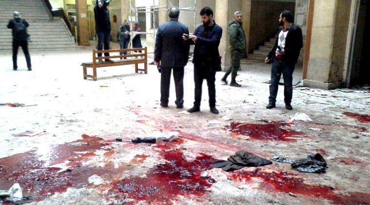 Syria, Damascus bombs, suicide bomb Syria, Syria blasts, 30 dead Syria, Hamidiyeh market bomb, al-qaida Syria attack, Rabweh district bombing, Syria bombing, World news