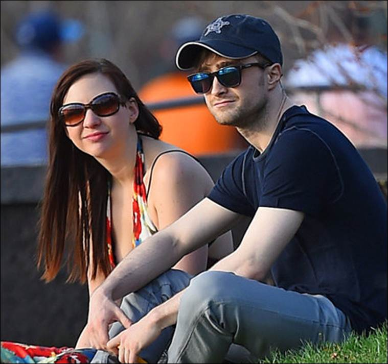 Daniel Radcliffe and Erin Darke spending their free time together