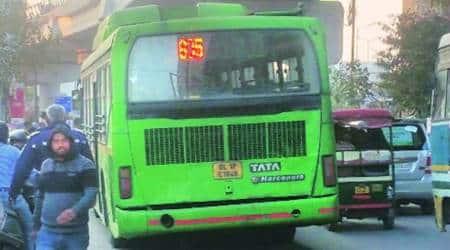 DIMTS drivers, dimts strike, driver strike, Delhi government, delhi bus, delhi bus strike, indian express news, delhi, delhi news