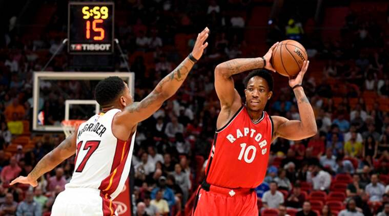 nba, nba eastern conference, nba east, nba, national basketball association, toronto raptors, miami heat, toronto vs miami, demar derozan, basket ball, nba news, nba standings, sports news