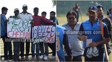 dhoni, ms dhoni, dhoni inida, dhoni fans, jharkhand vs vidharbha, jharkhand cricket, ms dhoni six, dhoni video, cricket news, cricket