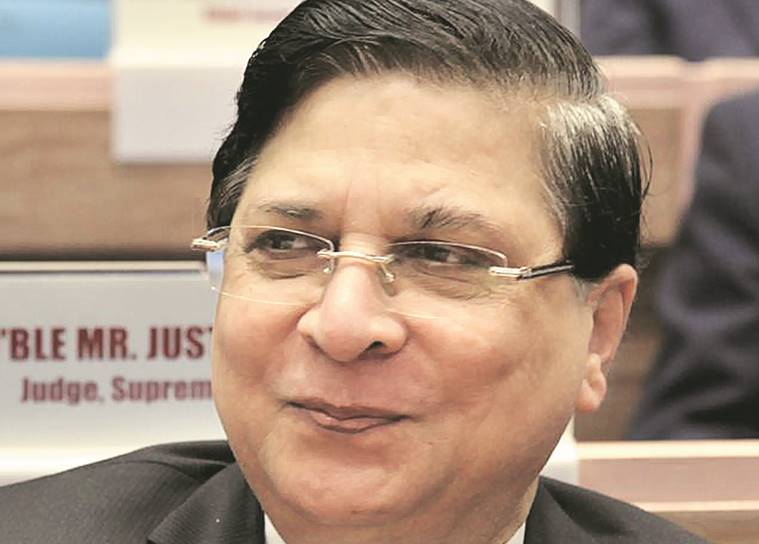 Supreme Court Bar Association president Vikas Singh meets CJI Dipak Misra