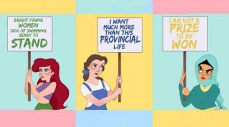 Happy Women's Day: Re-imagining Disney princesses in a Woman's World!