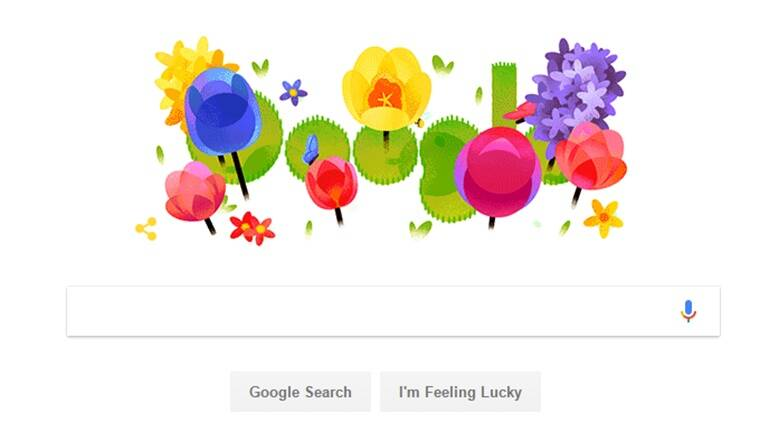 google doodle, happy nowruz, persian new year, google doodle new year, google doodle nowruz, google doodle spring, google doodle celebrates spring, indian express, indian express news