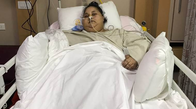 Indian doctors confirm 'world's heaviest woman' has lost 100kg""