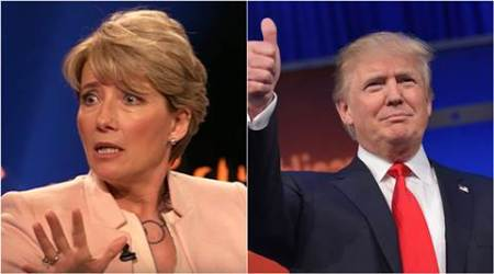 Emma Thompson once turned down a date with Donald Trump