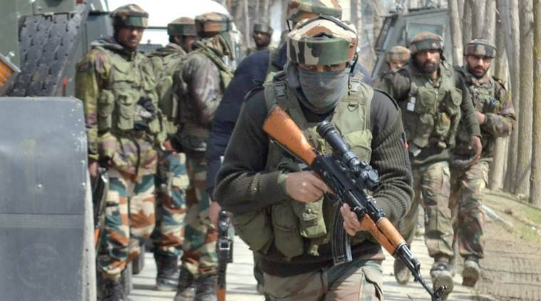Encounter in Shopian, militants trapped