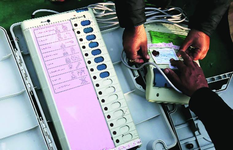 EVM, EVM controversy, electronic voting machine, electronic voting machine controversy, election commission of India, ECI, arvind kejriwal, state elections, state election results, indian express column, indian express editorial
