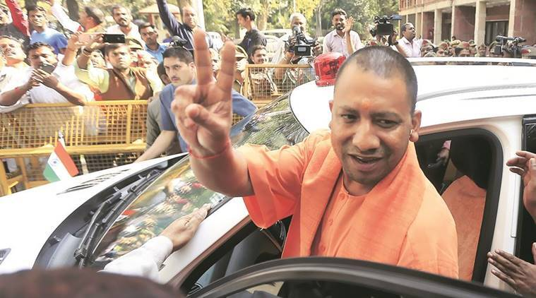 Yogi Adityanath, Gorakhpur, Gorakhpur town, gorakhpur celebrations, Uttar Pradesh chief minister, uttar pradesh CM Yogi, india news, indian express news