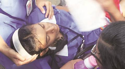 Minutes before SSC exam, student faints outside Khadki school gate