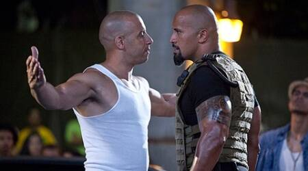 fate of furious, the fast and furious 8, F8, fate of the furious premier, fast and furious 8, dwayne johnson, the rock, vin diesel, indian express news, entertainment news