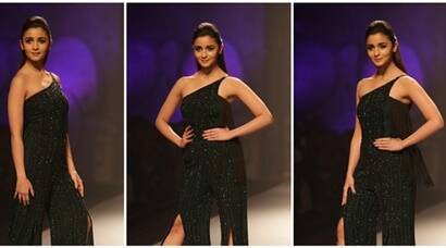 Alia Bhatt owns the ramp at AIFW, 2017. Just as she won fans with Badrinath Ki Dulhania