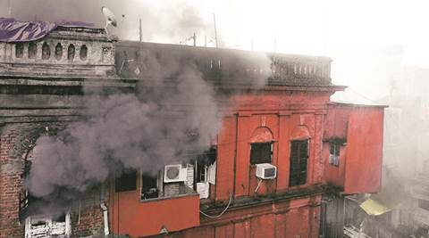 West Bengal: Over 40 godowns gutted in Burrabazar fire, nocasualty