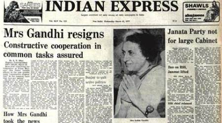emergency, indira gandhi, 1977 emergency, indira gandhi emergency era, emergency anniversary, india emergency era, india news, indian express news