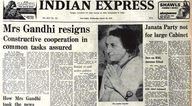emergency, indira gandhi, 1977 emergency, indira gandhi emergency era, emergency anniversary, india emergency era, india news, indian express news
