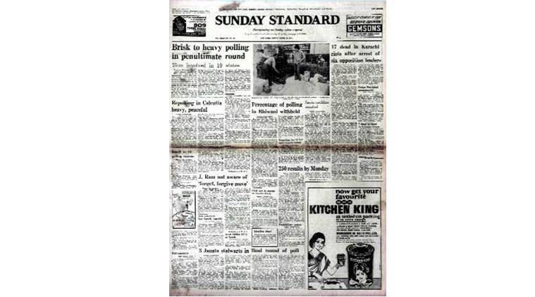 Forty Years Ago, Forty Years Ago indian express, March 20 1977, Karachi Riots, Karachi Riots 1977, Congress for Democracy, Congress for Democracy 1977, latest news, india news