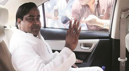 Former UP minister Gayatri Prajapati booked in extortion case