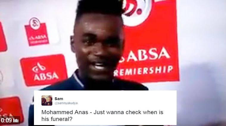 Mohammed Anas, Mohammed Anas thank wife and girlfriend speech, footballer thank wife and girlfriend, ghana footballer thank wife and girlfriend, sports news, latest news