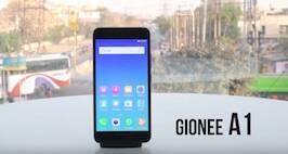 Gionee A1 First Look Video