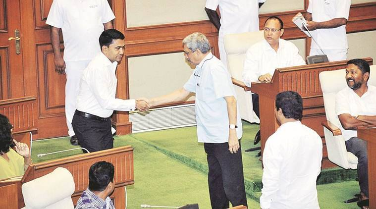 goa speaker, goa speaker elected, pramod sawant, bjp mla pramod sawant, pramod sawant speaker, goa news, india news