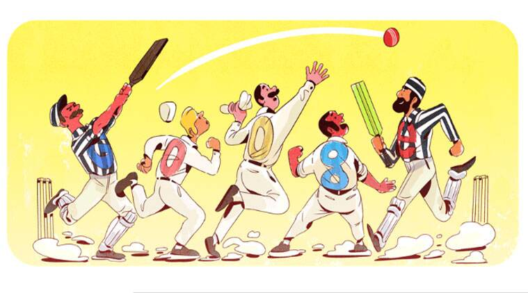 Google celebrates 140 years of Test cricket